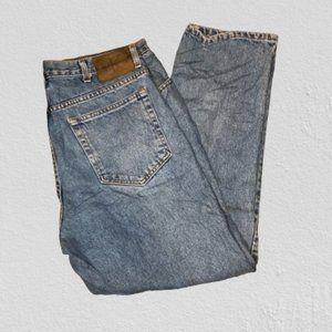 Vintage 1990s Calvin Klein Dad Jeans Size 36